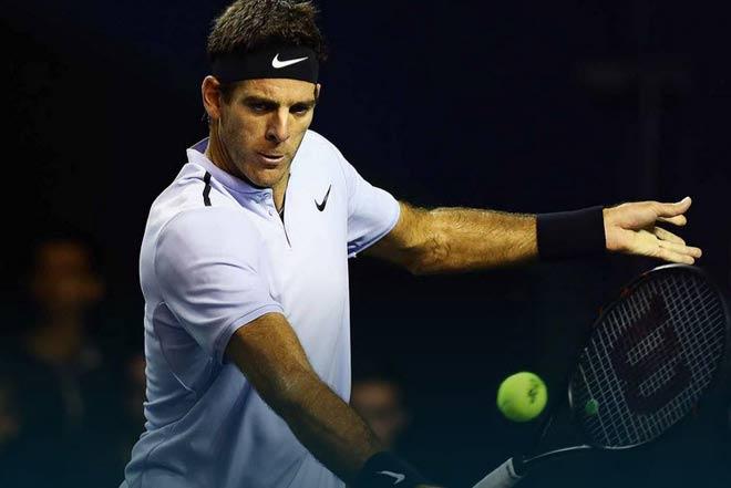"Cập nhật Paris Masters ngày 3: Hạ ""Tiểu Federer"", Isner gặp Del Potro tứ kết 4"