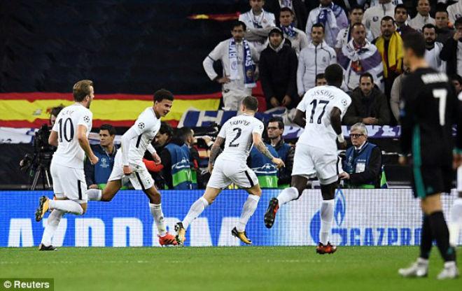 """Tottenham - Real Madrid: """"Sấp mặt"""" vì 3 cú đấm chí tử"""