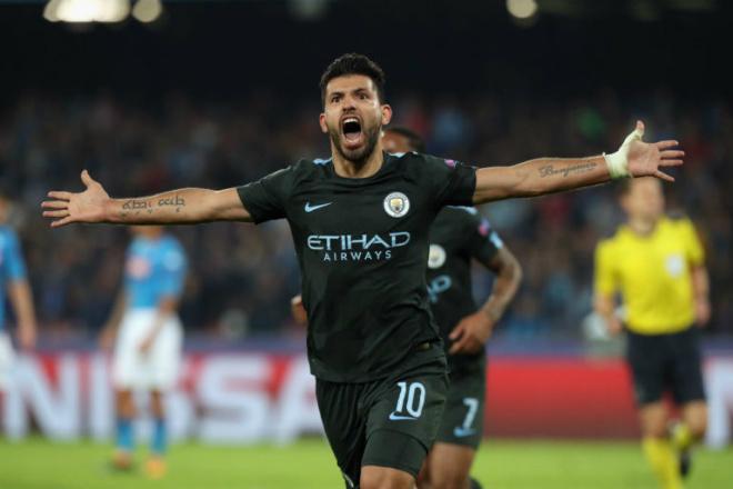 Man City giành vé knock-out trước MU: Aguero lập kỳ tích 178 bàn, đi vào lịch sử 1