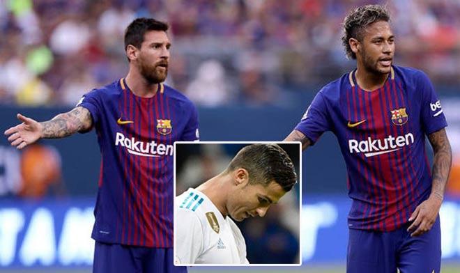 Messi sợ Neymar tới Real, muốn Barca hốt thầy trò Griezmann - 1