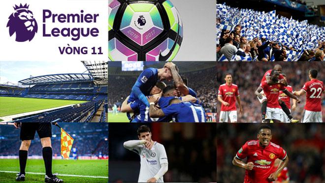 Ngoại hạng Anh trước vòng 11: MU chiến Chelsea, thủ đấu thủ 4