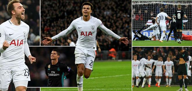 """Real """"tan nát"""" trước Tottenham: Báo Anh ngây ngất, an ủi Ronaldo - 1"""
