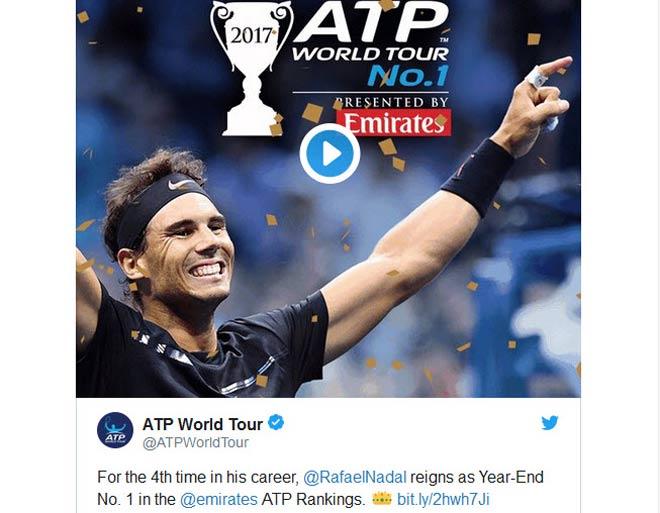 Tin thể thao HOT 2/11: Thế giới tới tấp mừng Nadal giữ ngôi số 1 - 1