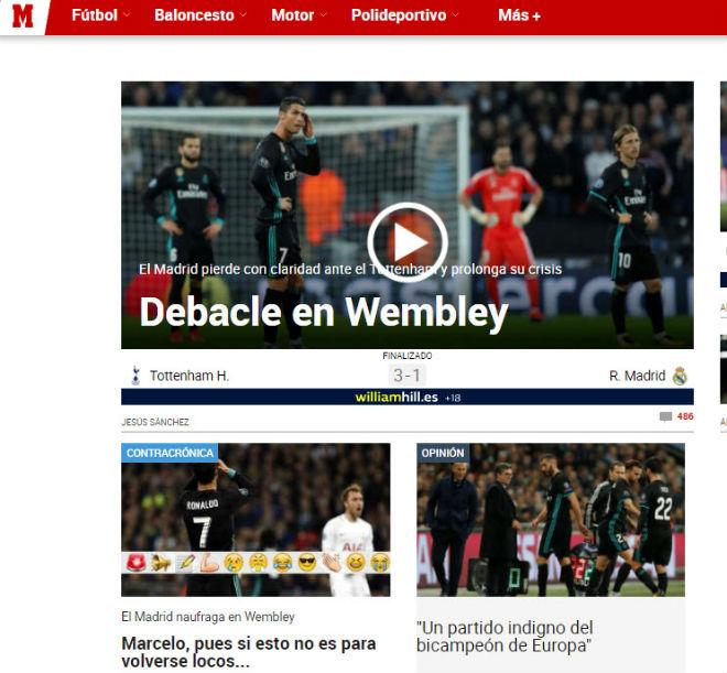 """Real """"tan nát"""" trước Tottenham: Báo Anh ngây ngất, an ủi Ronaldo - 3"""