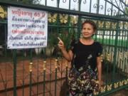Bạn trẻ - Cuộc sống - Cụ bà 65 tuổi 2 đời chồng treo biển tuyển bạn trai trước cổng nhà