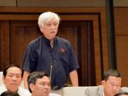 """ĐB Dương Trung Quốc: Dùng chữ  """" đầu thú """"  ở vụ Đồng Tâm là không ổn"""