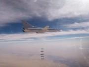 6 oanh tạc cơ Nga dội lửa  nướng chín  khủng bố ở Syria