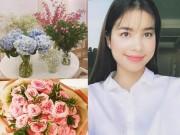 """Nhà đẹp của sao:  """" Căn nhà hoa hồng """"  mê hoặc của Hoa hậu Phạm Hương"""