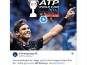 Thể thao - Tin thể thao HOT 2/11: Thế giới tới tấp mừng Nadal giữ ngôi số 1