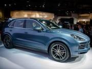 Porsche Cayenne 2018 sắp ra mắt Việt Nam