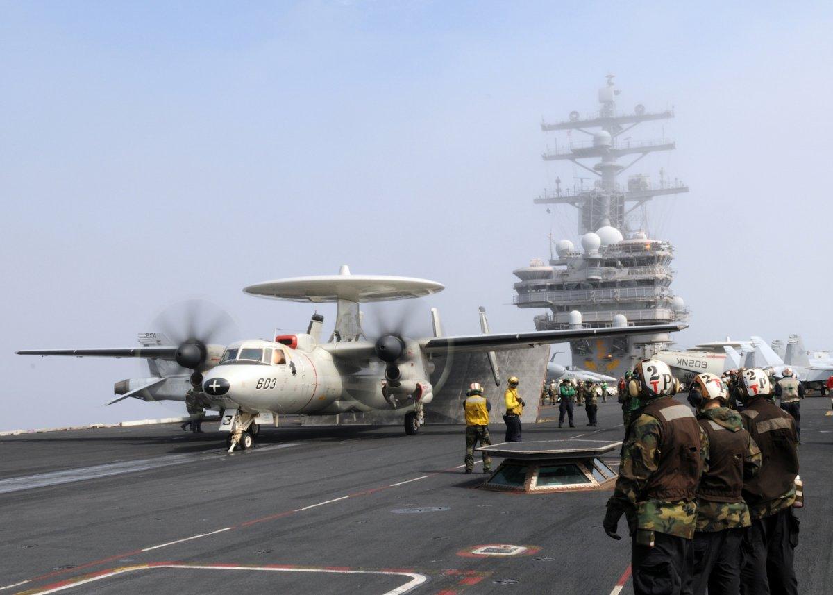 3 đội tàu sân bay Mỹ đem dàn vũ khí hùng hậu áp sát Triều Tiên - 4