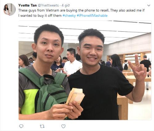 Tim Cook vui mừng chia sẻ ảnh người Việt mua iPhone X - 2