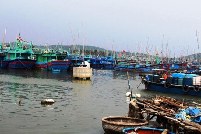 Đêm nay trên đất liền ven biển từ Bình Định đến Ninh Thuận gió giật cấp 15 - 1