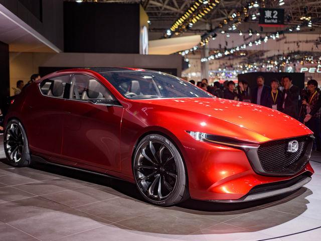 Mazda3 thế hệ mới được thể hiện qua Kai Concept