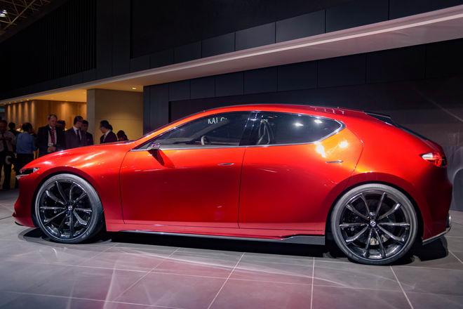 Mazda3 thế hệ mới được thể hiện qua Kai Concept - 3
