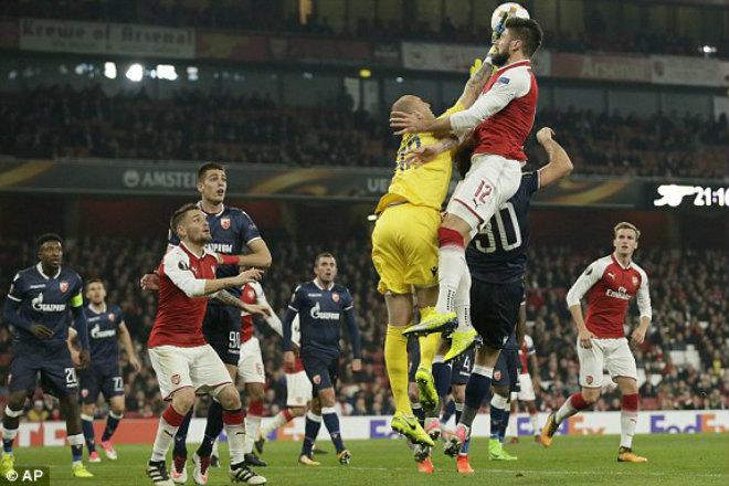 Arsenal - Crvena Zvezda: Công phá dồn dập, hoàn thành mục tiêu - 1