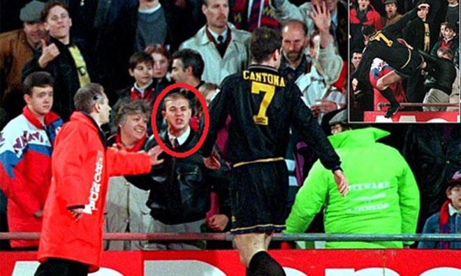 SAO MU tung cước đạp CĐV: Patrice Evra tái hiện Cantona 2