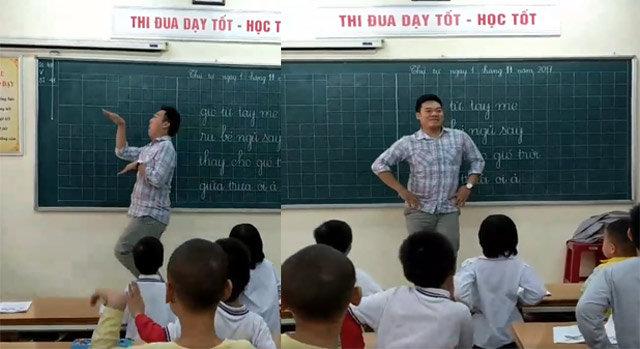 """Thầy giáo nhảy """"dẻo như kẹo"""" trong lớp học gây bão mạng - 2"""