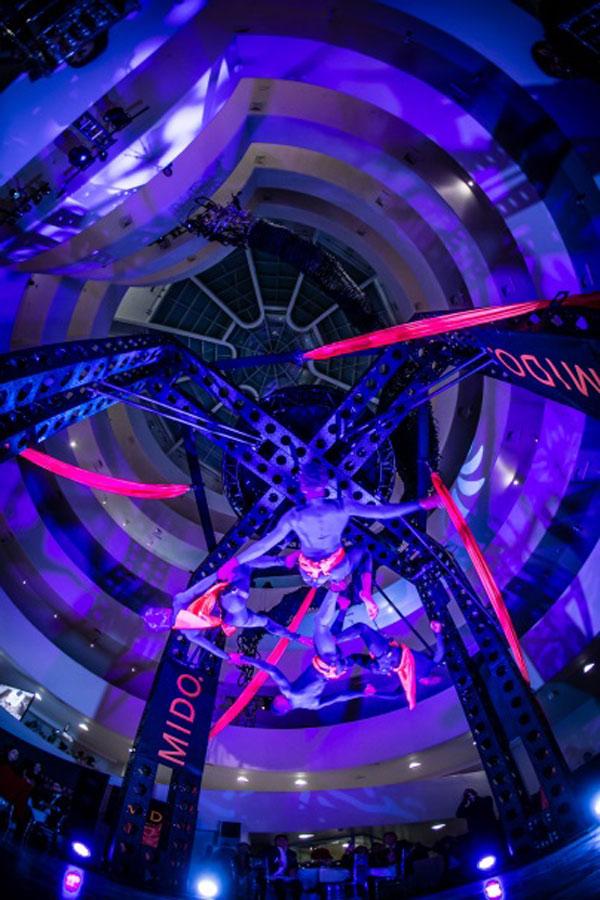 Thương hiệu Mido trình làng tạo tác đồng hồ Guggenheim tại New York, Mỹ - 4