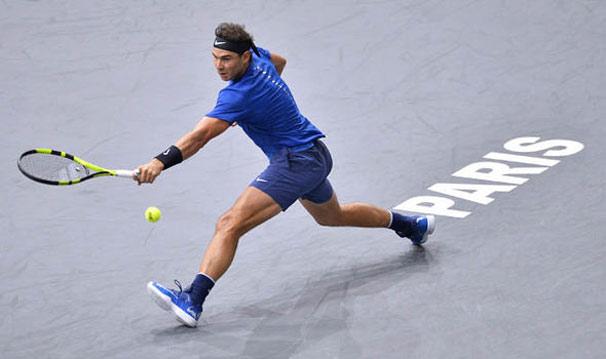 Trực tiếp tennis Paris Masters ngày 4: Cái chân đau và ý chí Nadal 1
