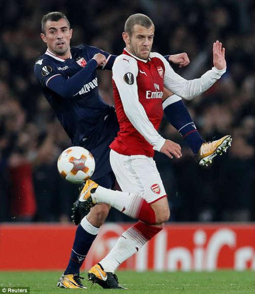 Chi tiết Arsenal - Crvena Zvezda: Nhiệm vụ bất khả thi (KT) 20