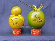 """Thị trường - Tiêu dùng - 5.000 trái dừa """"độc"""", lạ có """"1-0-2"""" sẽ được bán trong dịp Tết 2018"""