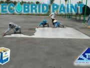 Tăng thẩm mỹ nền công trình với sơn phủ bóng Epoxy