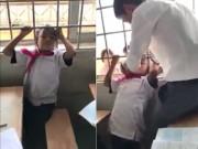 Bạn trẻ - Cuộc sống - Phì cười clip thầy giáo giải cứu học sinh mắc kẹt khó đỡ