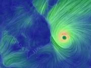 Tin tức trong ngày - Bão số 12 áp sát đất liền, Quảng Nam-Khánh Hòa bắt đầu mưa to