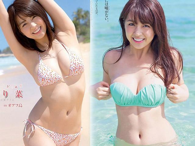 """""""Quả bom sexy"""" được đàn ông Nhật tôn thờ là thiên thần bãi biển"""