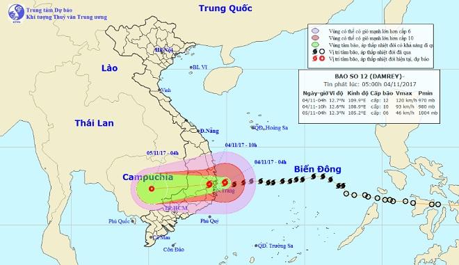 Tàn phá Nam Trung Bộ, bão tiếp tục gây thiệt hại ở Tây Nguyên - 19