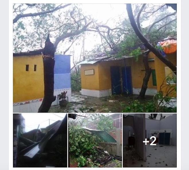 """Dân mạng """"rần rần"""" đăng ảnh bão kinh hoàng ở Nha Trang - 4"""