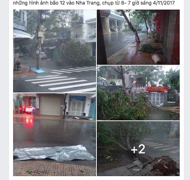 """Dân mạng """"rần rần"""" đăng ảnh bão kinh hoàng ở Nha Trang - 5"""
