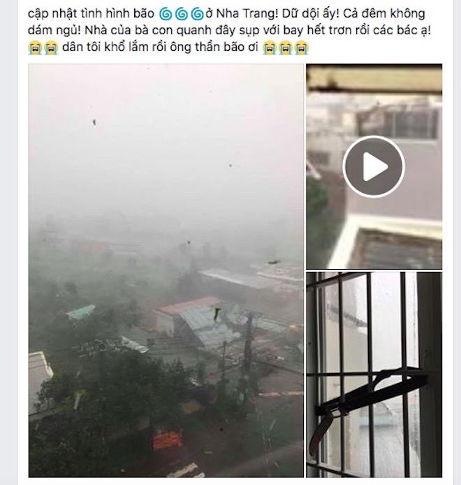 """Dân mạng """"rần rần"""" đăng ảnh bão kinh hoàng ở Nha Trang - 7"""