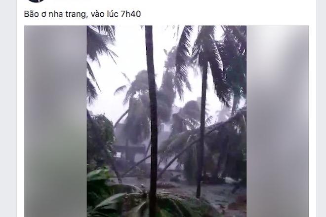 """Dân mạng """"rần rần"""" đăng ảnh bão kinh hoàng ở Nha Trang - 8"""