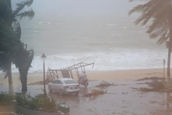 Tàn phá Nam Trung Bộ, bão tiếp tục gây thiệt hại ở Tây Nguyên - 7