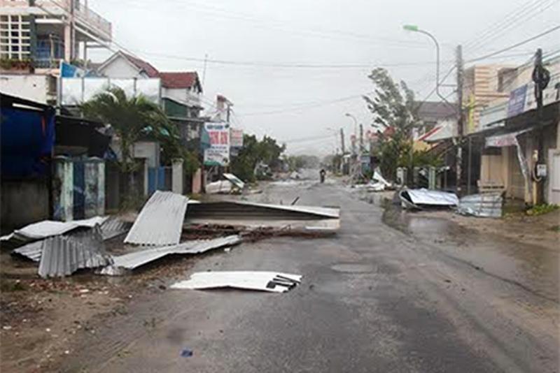 Chùm ảnh sức tàn phá khủng khiếp của bão số 12 - 7