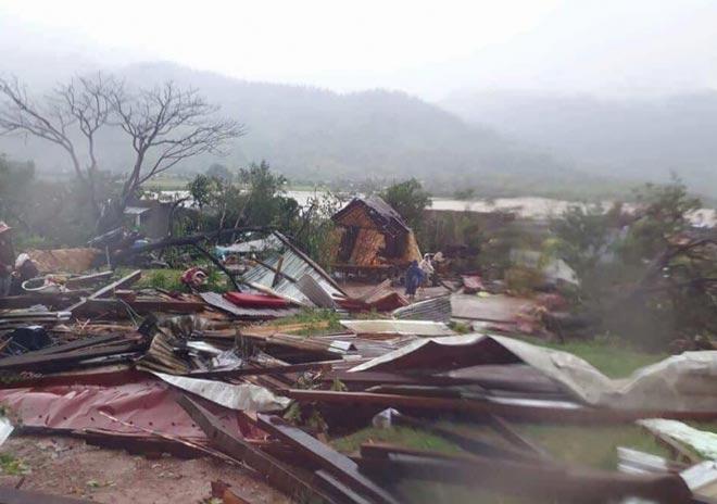 Tàn phá Nam Trung Bộ, bão tiếp tục gây thiệt hại ở Tây Nguyên - 1
