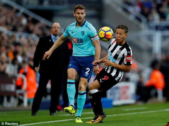 Newcastle - Bournemouth: Bùng nổ phút bù giờ (vòng 11 ngoại hạng Anh)