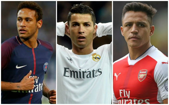 "Real: Ronaldo ""chê"" Sanchez, hẹn Neymar 2 năm nữa - 1"