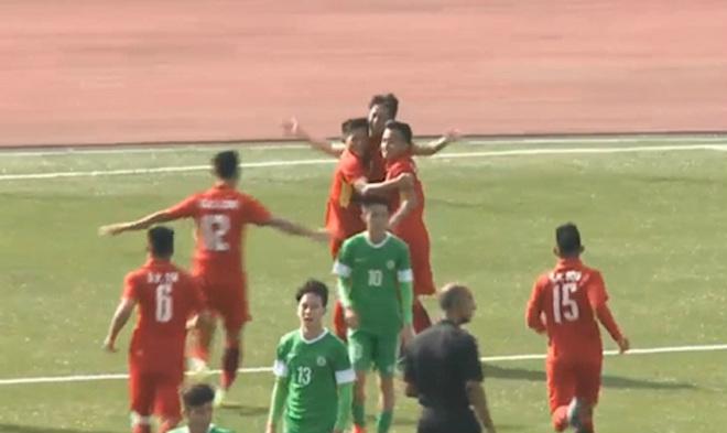 U19 Việt Nam - U19 Macau (TQ): Hiệp 2 bùng nổ, kết liễu trong 8 phút - 1