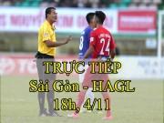 Chi tiết Sài Gòn - HAGL: Chiến thắng nghẹt thở (KT)