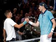 Krajinovic - Isner: Viết cổ tích nhờ loạt  đấu súng  (Bán kết Paris Masters)