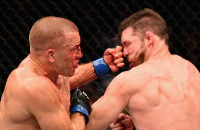 UFC 217: Huyền thoại móc trái đỉnh cao, nhà vô địch Bisping đo ván thê thảm 3