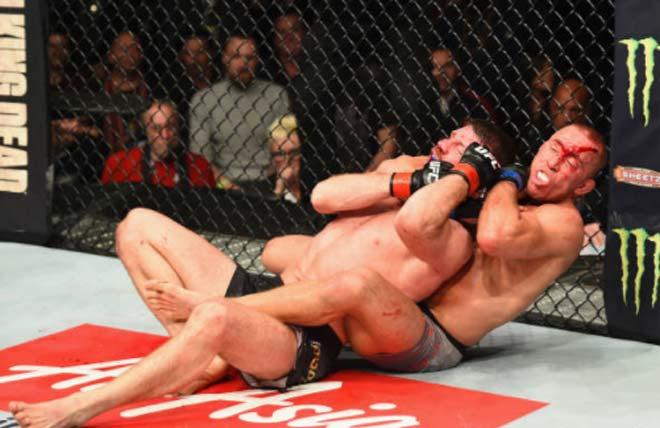 UFC 217: Huyền thoại móc trái đỉnh cao, nhà vô địch Bisping đo ván thê thảm 6