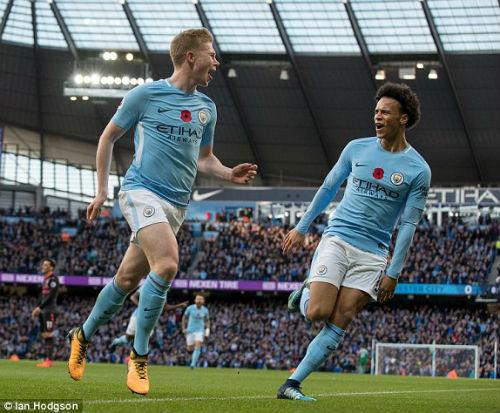 TRỰC TIẾP Man City - Arsenal: Jesus lập công, Man xanh tái lập cách biệt 2 bàn 28