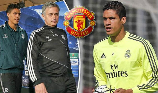 """Chuyển nhượng MU: Real sa sút, Mourinho """"chèo kéo"""" học trò cũ Varane 1"""
