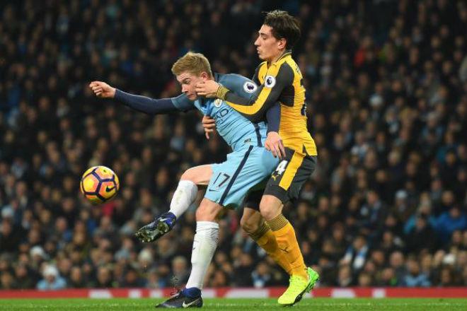 Man City - Arsenal: Đấu hỏa lực, sẵn sàng đua bàn thắng 1