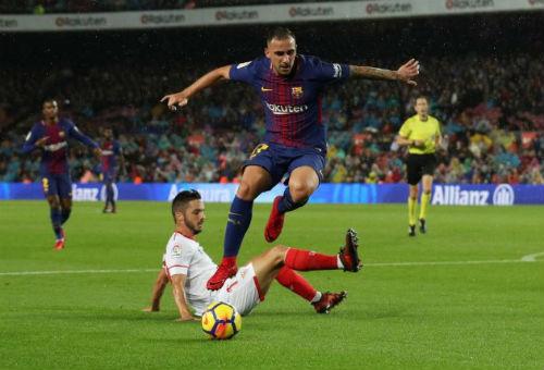 Chi tiết Barcelona - Sevilla: Messi lĩnh thẻ vàng vô duyên (KT) 21