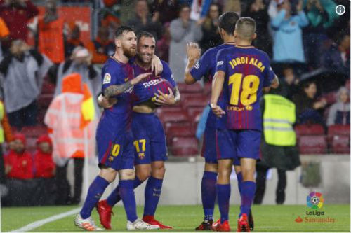 Chi tiết Barcelona - Sevilla: Messi lĩnh thẻ vàng vô duyên (KT) 22